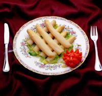 Espàrrecs de Navarra amb salsa vinagreta