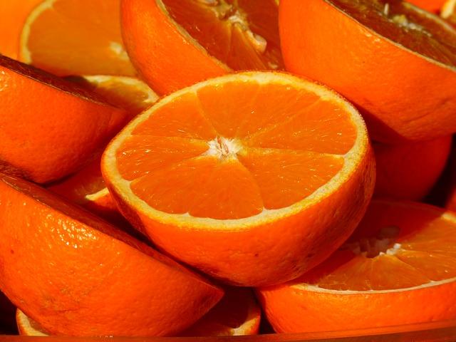 La naranja tiene yodo